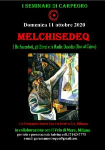 I seminari di Carpeoro: Melchisedeq